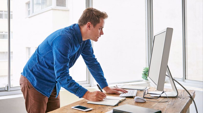Boost Your Productivity by - Standing While Working?