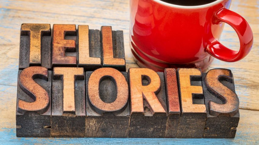 storytelling establishes credibility and trust