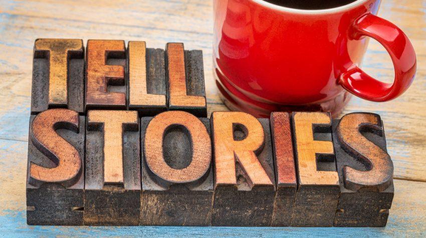storytelling establishes credibility