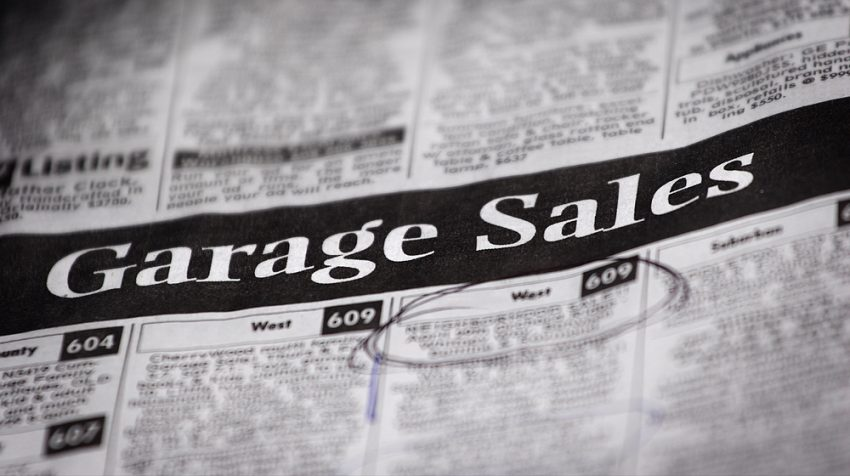Where to Advertise Garage Sales: Yard Sales Sites, Garage and Yard Sale Sites - Newspaper Classifieds