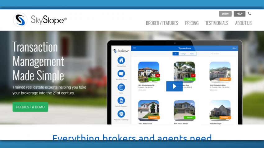 real estate broker software
