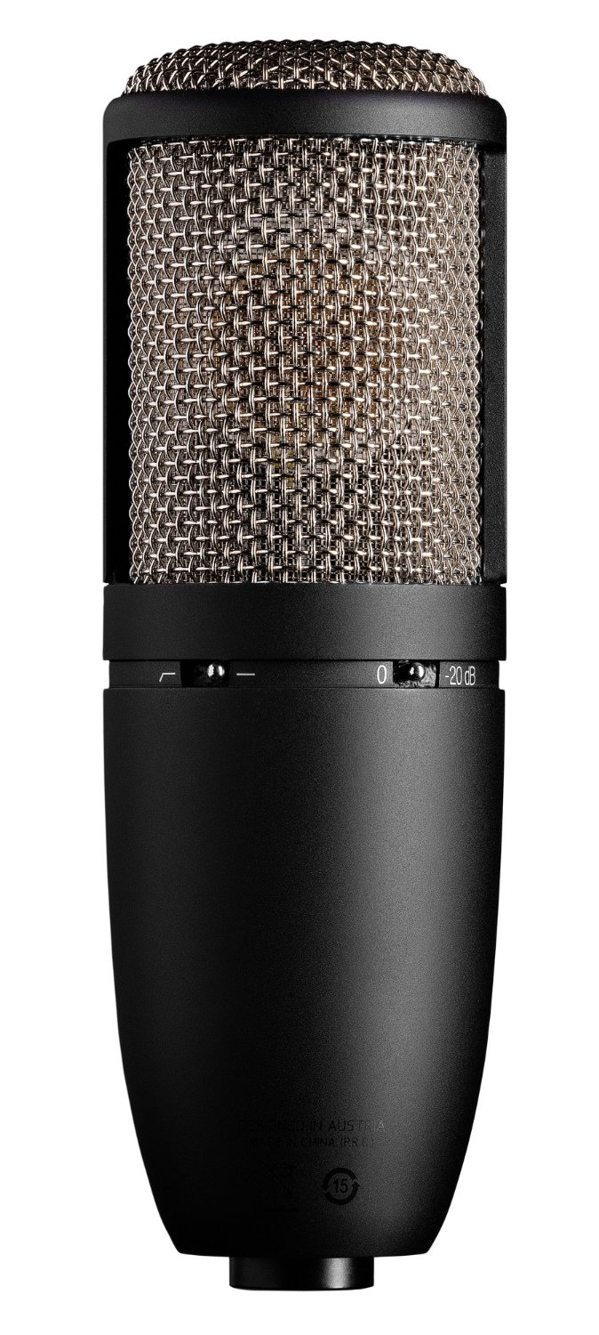 Best Budget Microphones - Get a Top 20 Podcast Microphone for Under $200 - AKG P420 High-Performance Dual-Capsule True Condenser Microphone