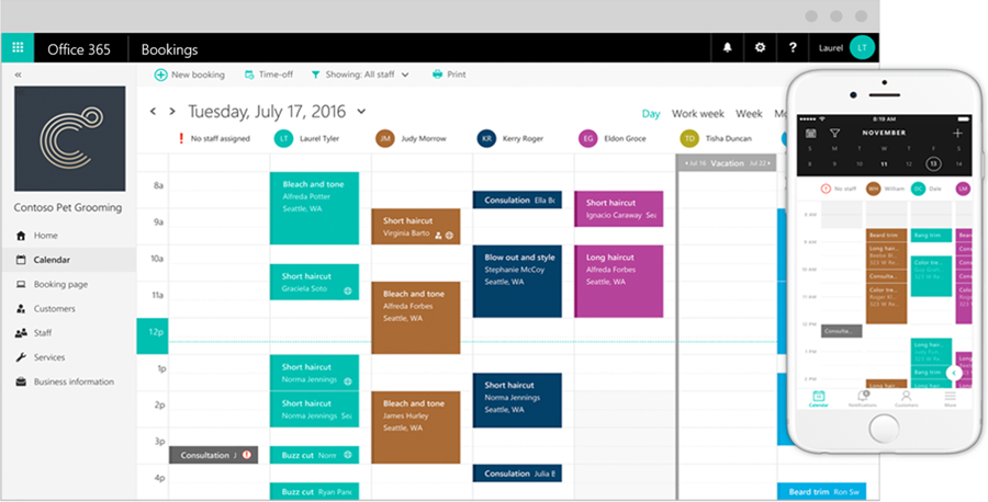 Microsoft Bookings - Manage Your Appointments