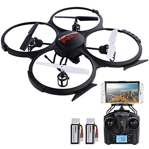 The Best Cheap Drones - DBPOWER U818A