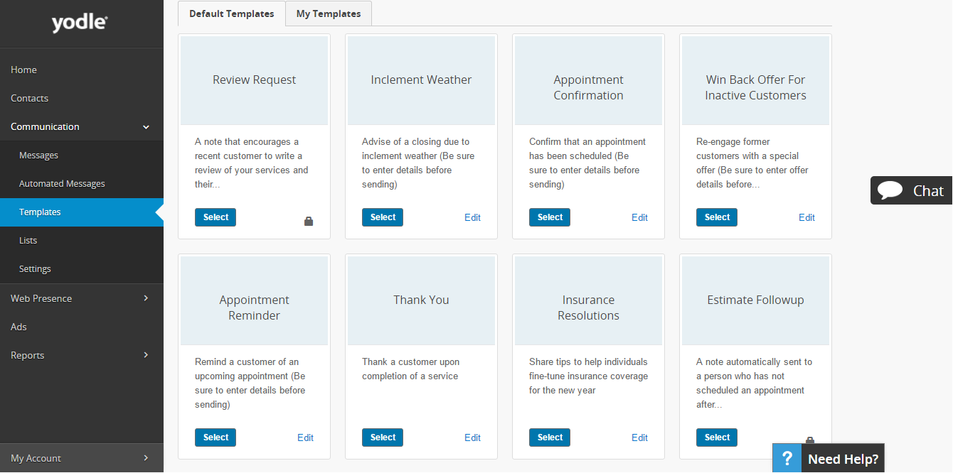 What Is Yodle - Email Template Library