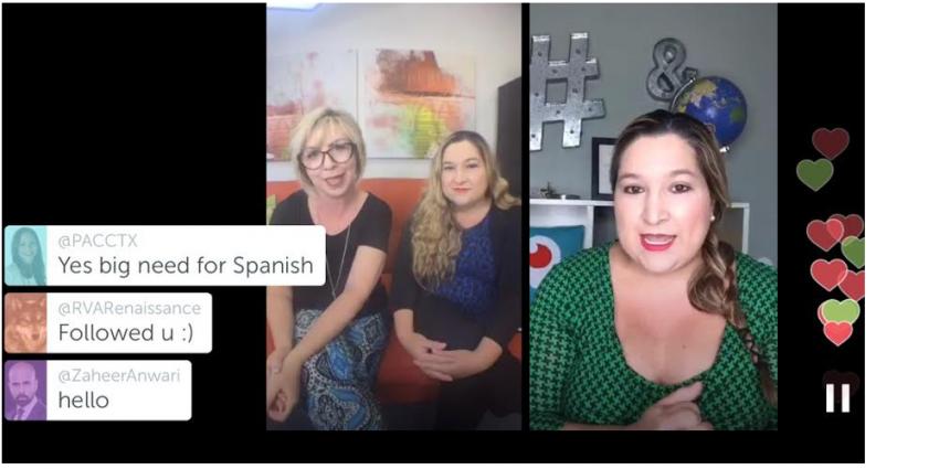 Latino Entrepreneur Taps Growing Trend: Livestreaming Social Media in Spanish