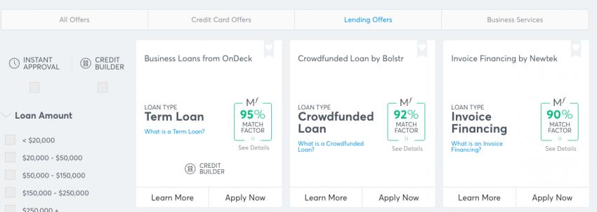 MatchFactor Score Shows Likelihood of Financing Approval