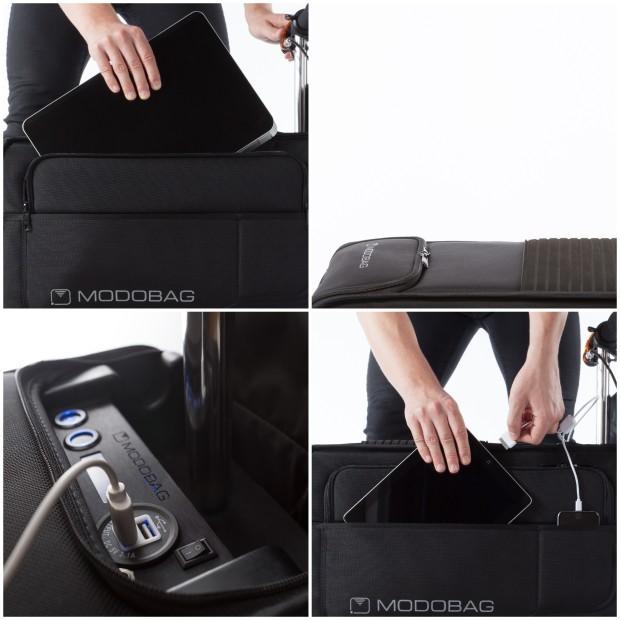 Modobag - Storage and charging