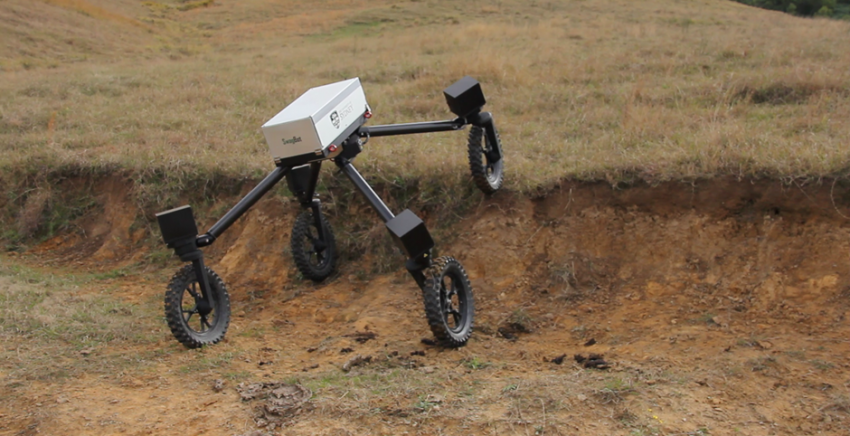 Farm Robot SwagBot May be the Mechanized Helper on Small Farms of The Future