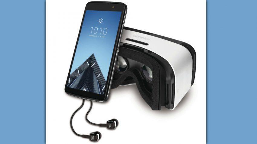Alcatel OneTouch IDOL 4, 4S are Mid-Range Phones -- with VR Goggles