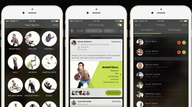 Sports Social Network - ALETO App