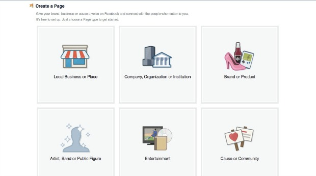 How to Create a Facebook Business Page - Choose a Category
