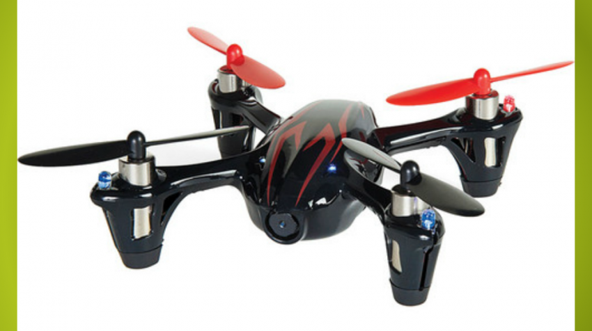 The Best Cheap Drones - Hubsan X4 H107C With HD Camera