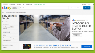 eBay Business Supply Brings B2B Sales Under One Umbrella