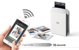 Fujifilm instax SHARE SP-2 Printer in Action