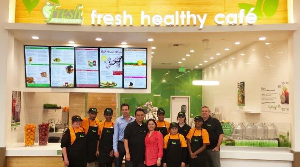 Juice Bar Franchises - Fresh Healthy Café