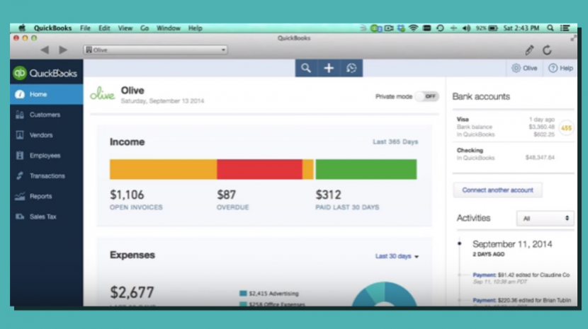QuickBooks App for Mac Can Save You Time Running a Small Business