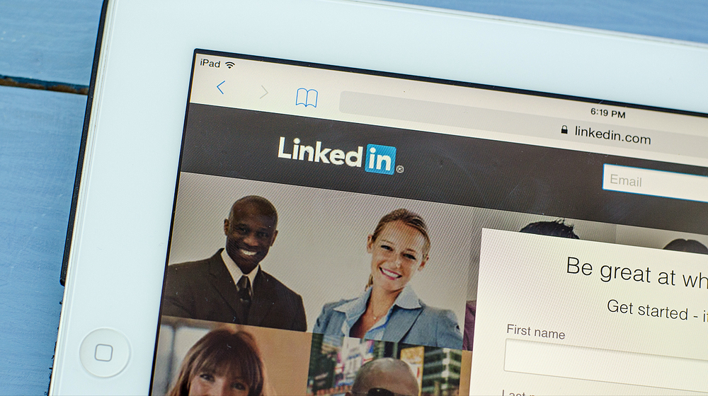 LinkedIn - Magazine cover