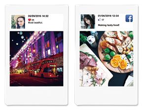 Fujifilm instax SHARE SP-2 Printer - Social Media