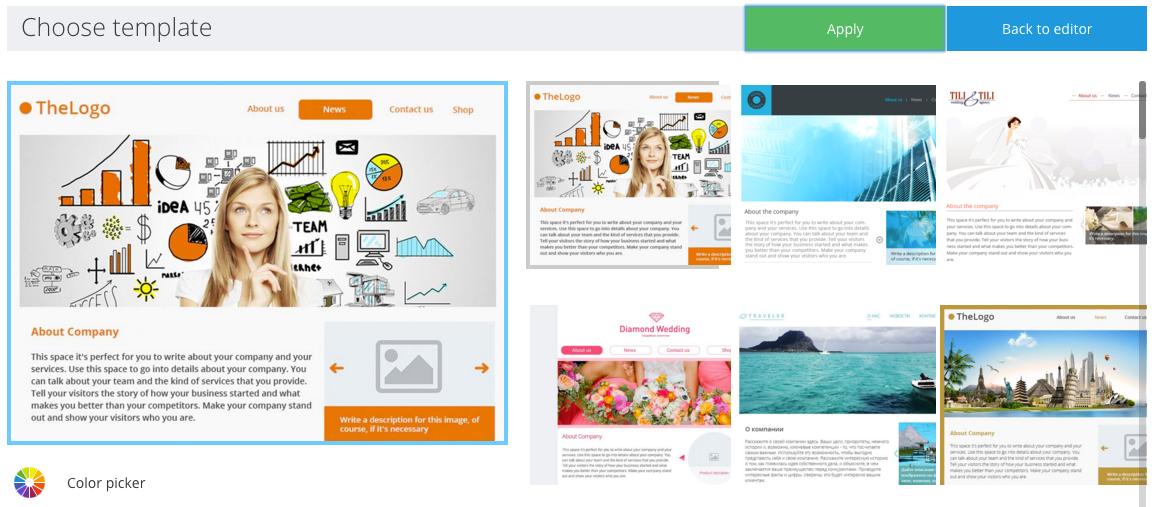 Solomoto Website Templates