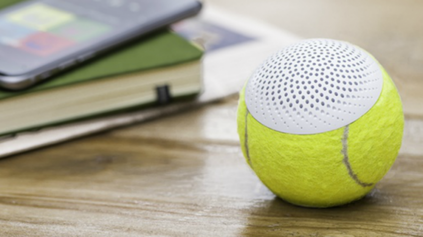 The HearO Tennis Ball Speaker is a Green Solution Fans Will Love