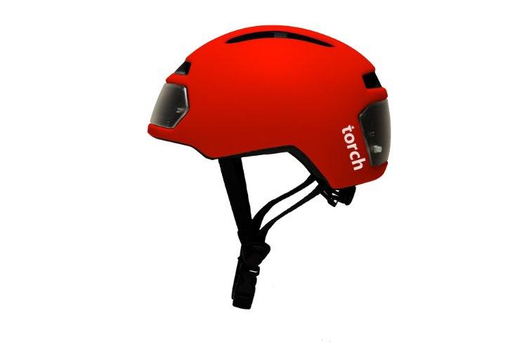 Amazon Startups Product - TORCH APPAREL T2 Bike Helmet