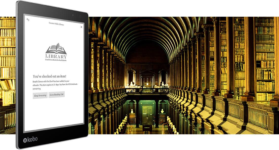 Kobo eReaders - Borrowing an eBook is Easy