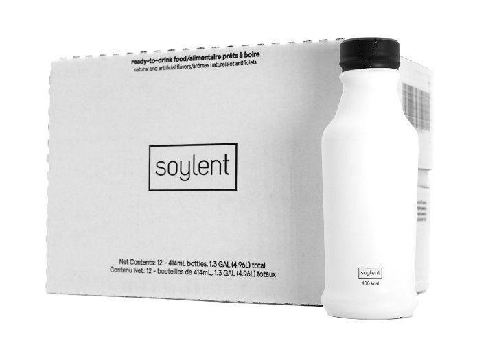 Amazon Startups Product - Soylent Ready to Drink Food, 12 Pack of 14 oz. Bottles