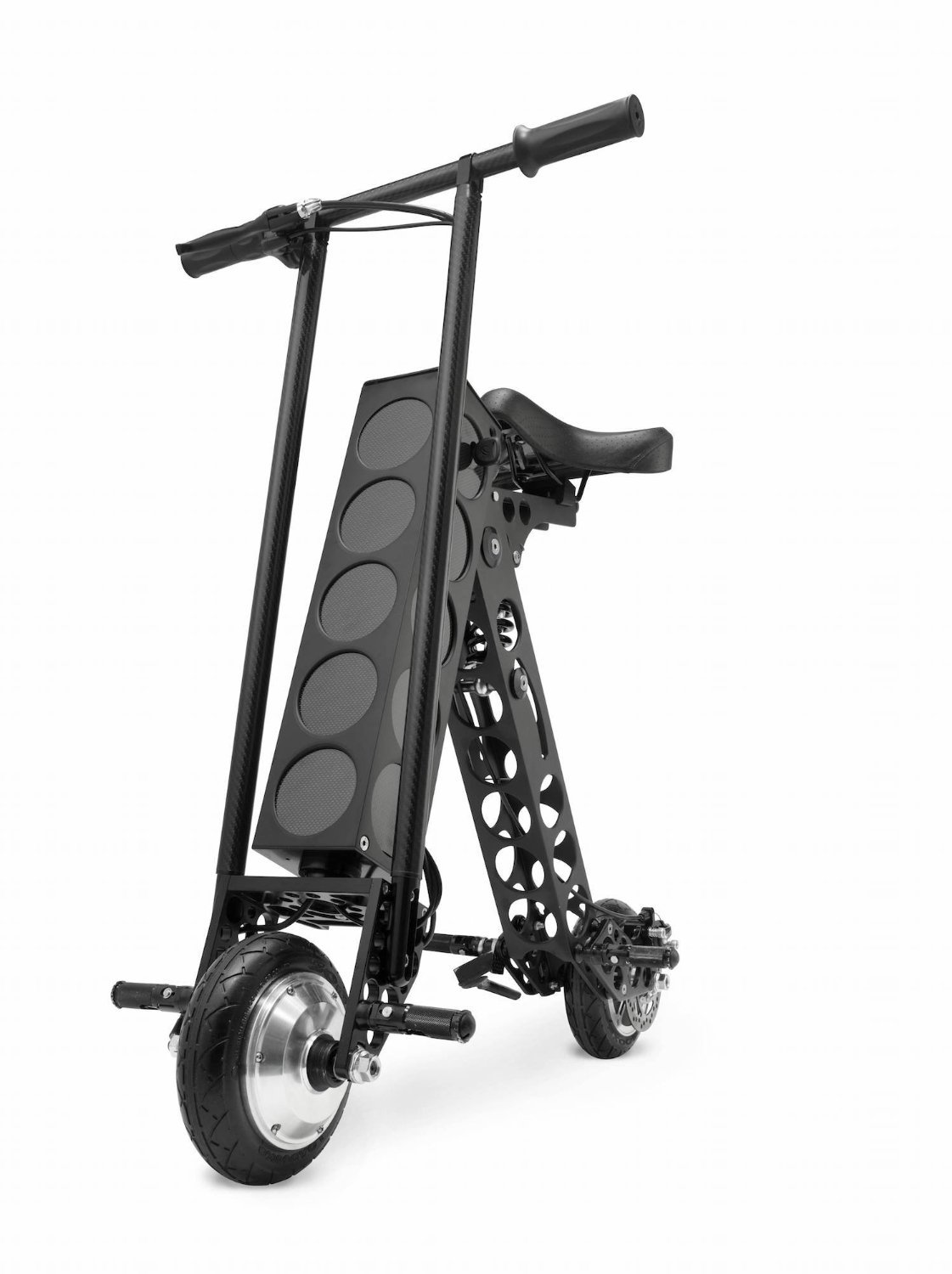 Amazon Startups Product - URB-E Black Label Electric Folding Scooter