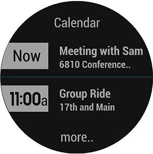 Gamin's Fenix Chronos - Calendar Display