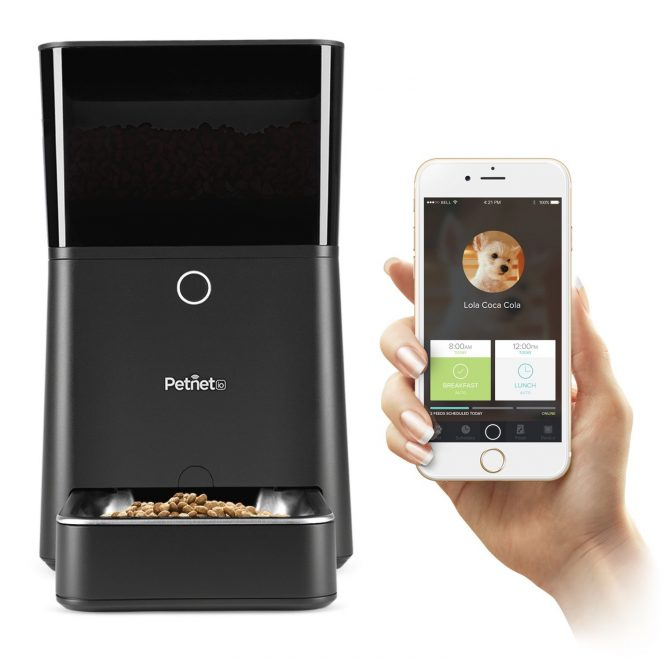 Amazon Startups Product - Petnet SmartFeeder iPhone