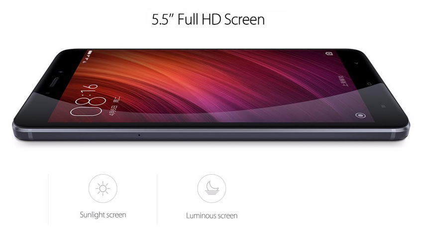 Redmi Note 4 - Large Screen Size