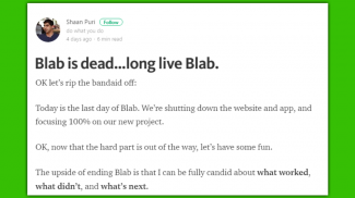 Bye Bye, Blab! Livestreaming Site Shuts Down Blab App to Rethink its Options