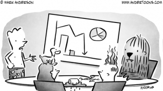 Murphy's Law Business Cartoon