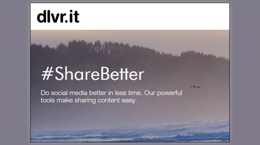 Need to Share Some Content? Dlvr.it Provides Syndication Service