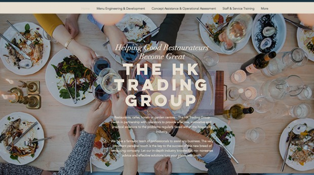 AI Web Design - HK Trading Group