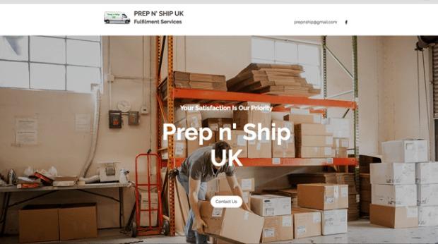 AI Web Design - Prep n' Ship UK