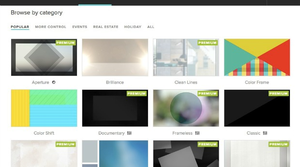 How to Create a Video Using the Animoto Video Maker: Choose a Style
