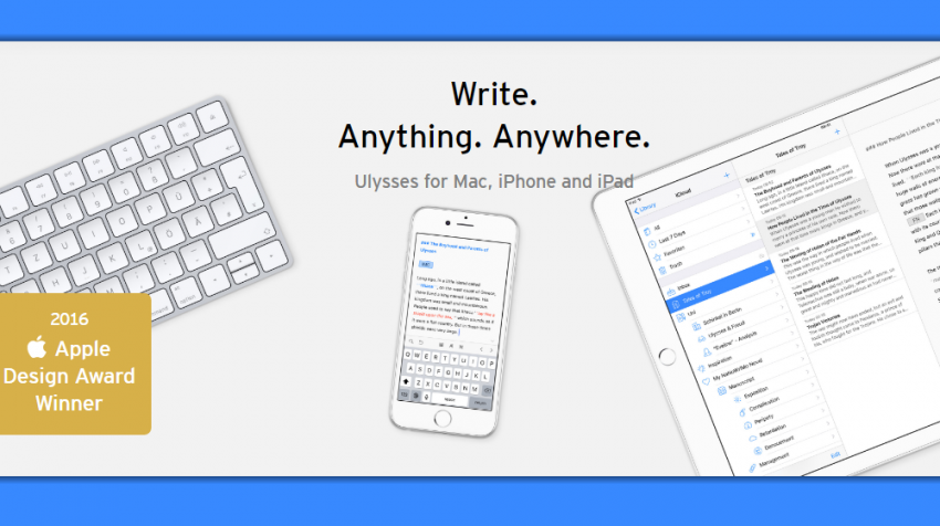 iPhone, iPad Users: Ulysses App Allows You to Write in WordPress, Dropbox – from Anywhere