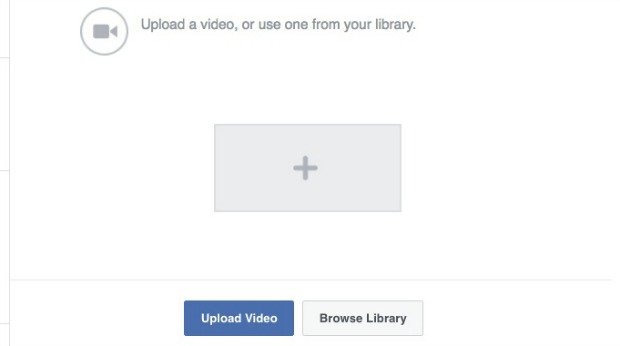 How to Make a Facebook Slideshow Ad - Upload Your Existing Videosz