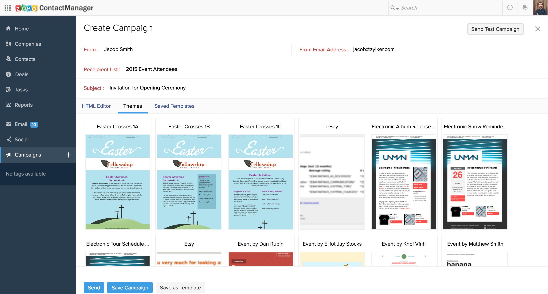 Zoho and MailChimp Integration