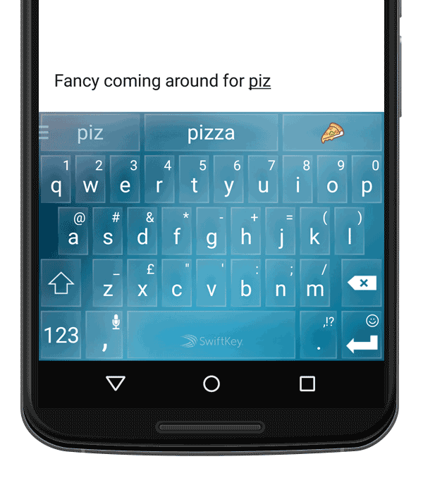 SwiftKey's Mobile Keyboard Is Way Ahead of You Already