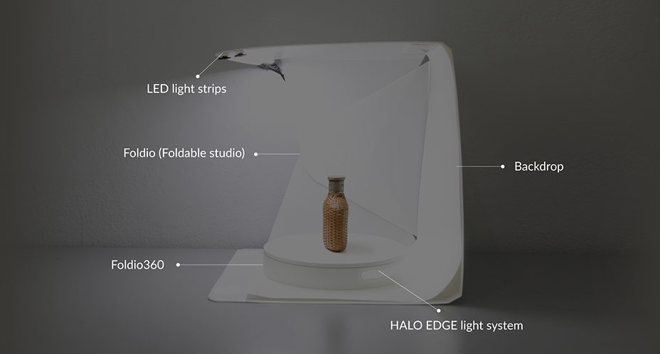 360 Product Photography - The Foldio360 Solution