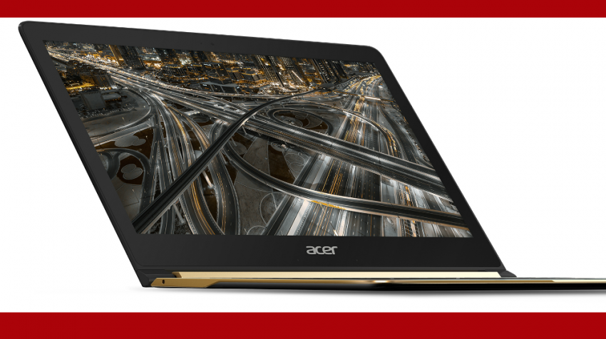 The Small Acer Laptops, Swift 7 and Spin 7, Seem Useful for Mobile Business -- If You Don't Mind the Price