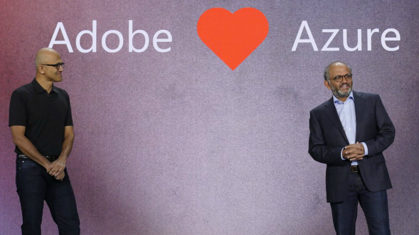 Microsoft Announces Partnership to Run Adobe Cloud on Microsoft Azure