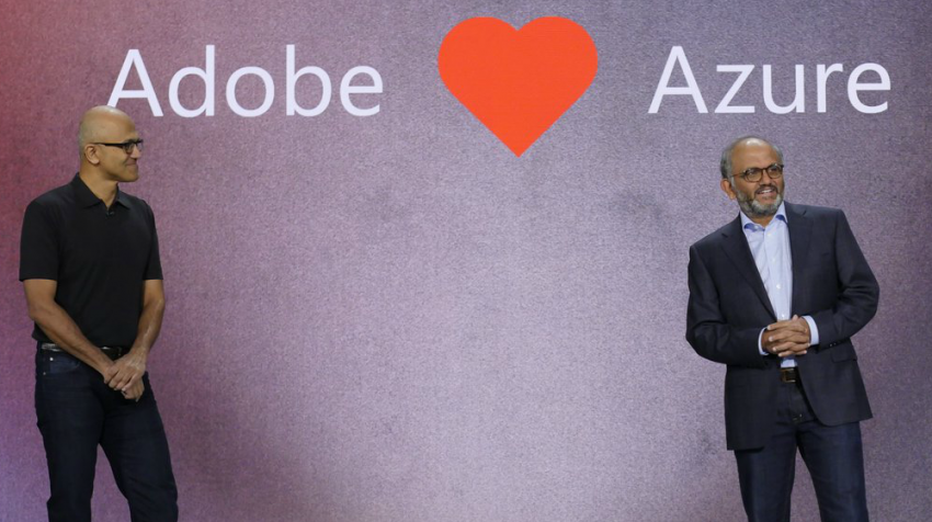 Microsoft Announces Partnership to Run Adobe Cloud on Microsoft Azure