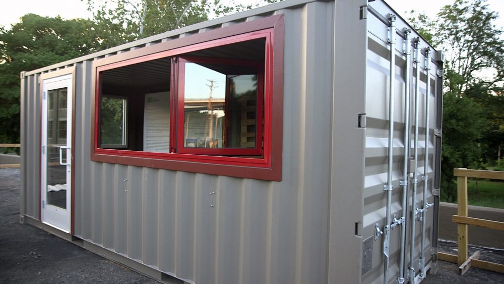This Green Entrepreneur Teaches Sustainability — in a Shipping Container - Small Business Trends