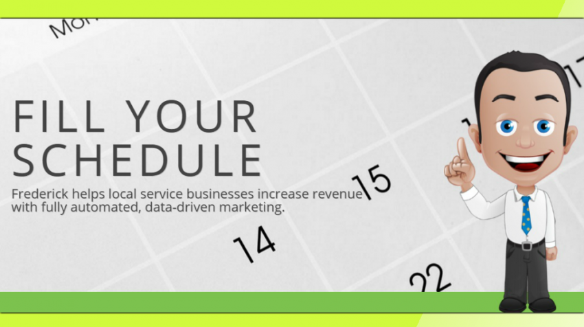 Frederick Provides Local Marketing Automation for Service Businesses