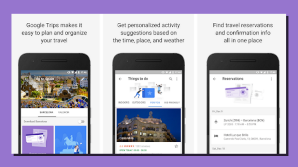 New Google Trips App Could Simplify Travel for Business - and