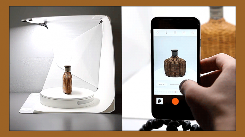 Smart Turntable Creates 360 Product Photography Images For Ebay, Etsy, Other eCommerce Stores